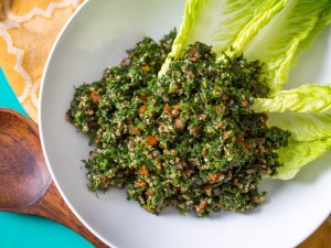 Tabbouleh - one of our favourite herby salads (Photo courtesy of www.seriouseats.com/)