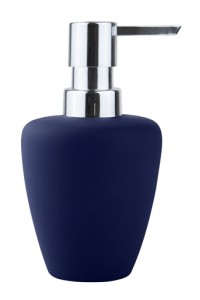 Blue Confetti Soap Dispenser