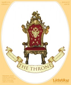 'The Throne' lidstick