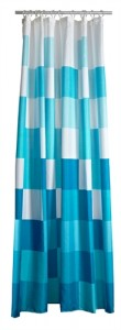 Confetti Shower Curtain in Turquoise